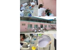韩国佰诺佰琪巴诺巴奇-关爱饮用水协会福祉设施的壁画描绘