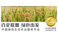 绿色出发:中国绿色农业生态服务平台AOL即将上线
