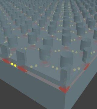 工程师在纳米制造的半导体结构中制造人造石墨烯