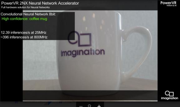 Imagination为自定义处理器创建神经网络加速器