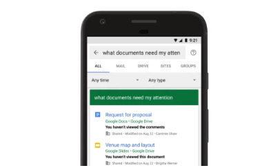 谷歌为其企业搜索产品添加了自然语言功能