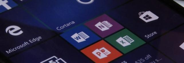 Microsoft Office Mobile for Windows 10审核