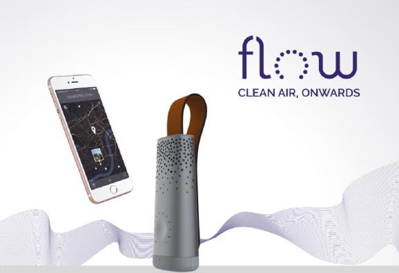Plume Labs的Flow可追踪室内和室外的空气质量