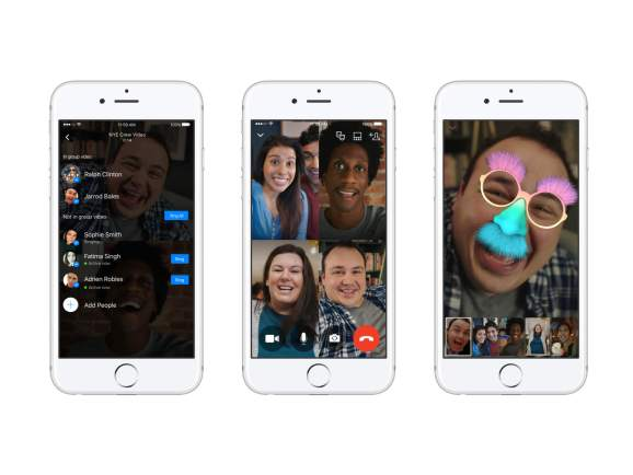 Facebook Messenger现在支持群组视频聊天