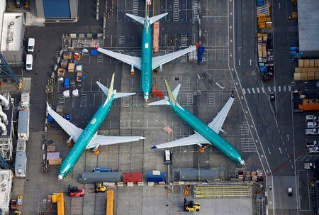 美国联邦航空局与美国航空公司 波音737 MAX的飞行员工会会面