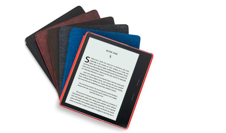 全新Kindle Oasis来了!新增暖光阅读灯功能