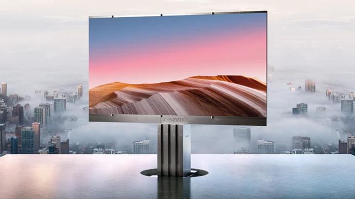 真贵!破世界纪录:301英寸的折叠电视上市 买不起