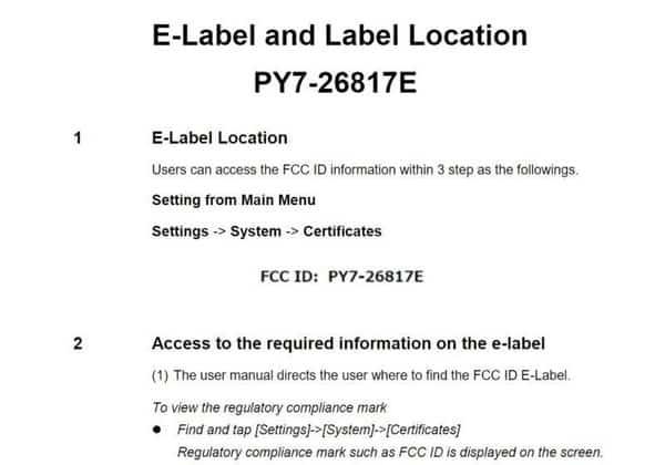 Xperia 20通过FCC认证:骁龙710+后置双摄