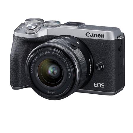 高品质相机佳能(CANON)EOS M6 MARK II 微仅售6799.00元